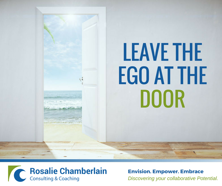 Leave the Ego at the Door