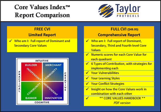 Core Values Index Assessment
